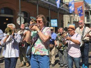 French Quarter Festival street parade