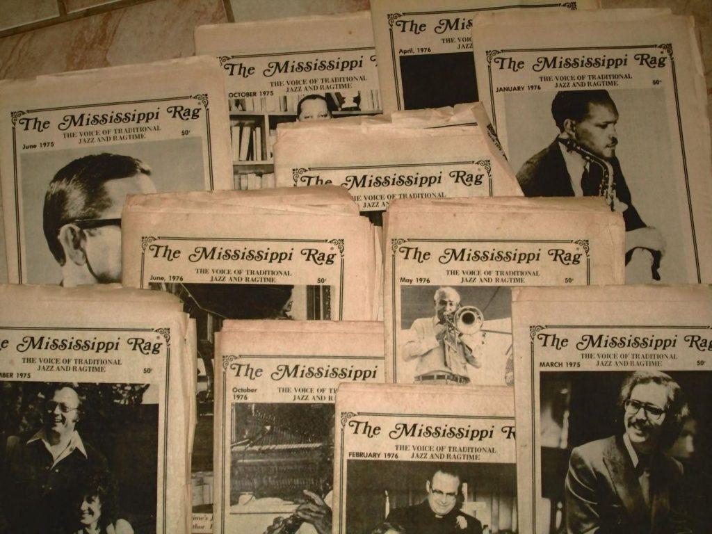 Mississippi Rag magazine covers