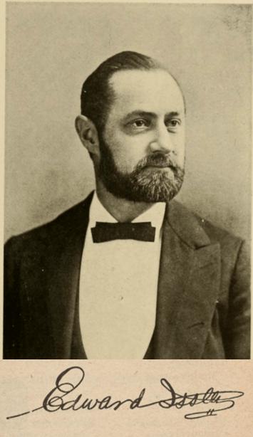 Edward Issler portrait
