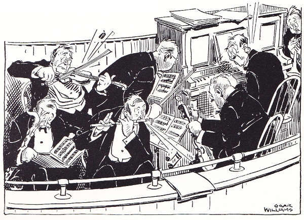 Pit Band Cartoon