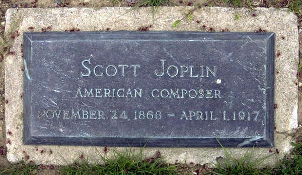 Scott Joplin Grave Marker