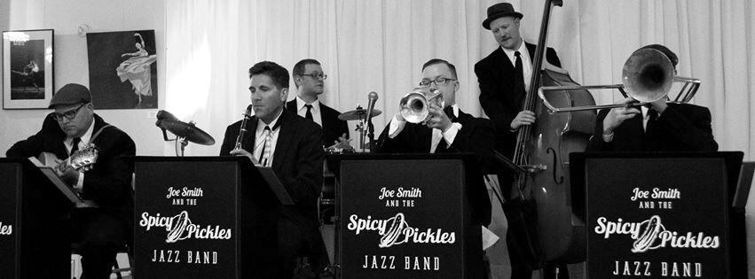 Denver trumpeter Joe Smith leads the Spicy Pickles at the Evergreen (CO) Jazz Festival in July.