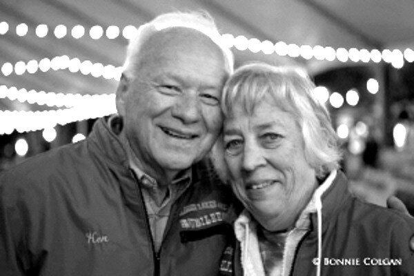 Ken Coulter and Flossie Coulter (photo by Bonnie Colgan)
