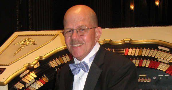 Tony Thomas at the organ