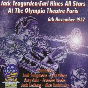 Jack Teagarden Earl Hines - Jack Teagarden/Earl Hines All Stars At The Olympia Theatre Paris