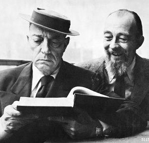 Buster Keaton and Rudi Blesh