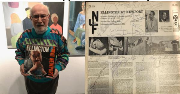 Jazz expert educator,Arnold J. Smithon: Ellington at Newport 1956