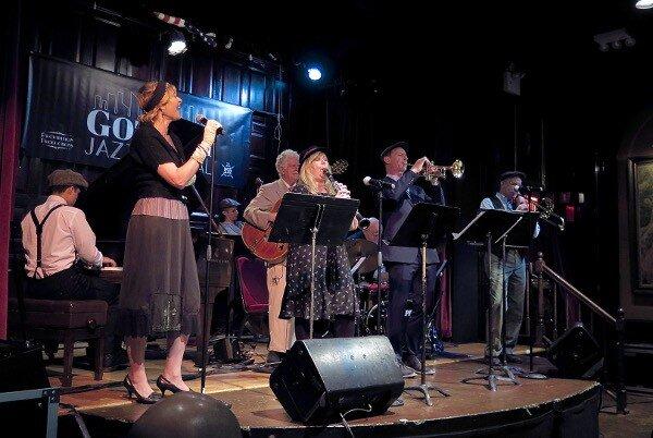 New York Hot Jazz Camp band