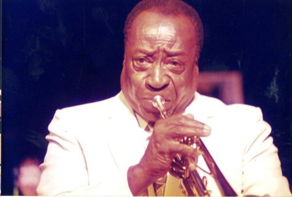 Dave Bartholemew Louis Armstrong memorial stamp release party New Orleans 1995
