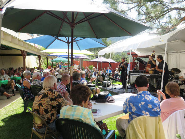 Evergreen Jazz Festival Hits Rocky Mountain High Note