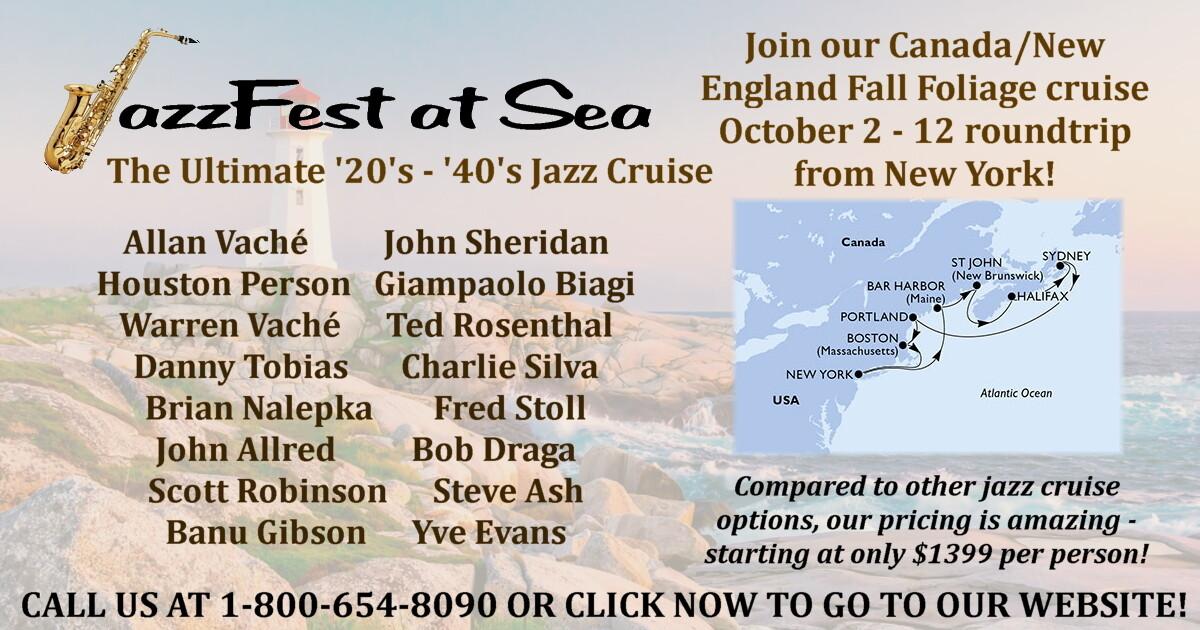 Jazz Fest at Sea