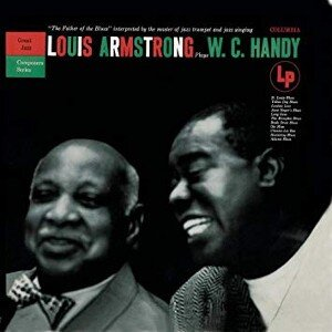 Louis Armstrong Plays WC Handy Album Cover