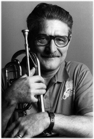Sheelar cornet portrait - Earl Scheelar to be Honored at Cline Wine and Jazz Festival