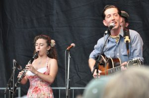 Pokey LaFarge and Chloe Feoranzo
