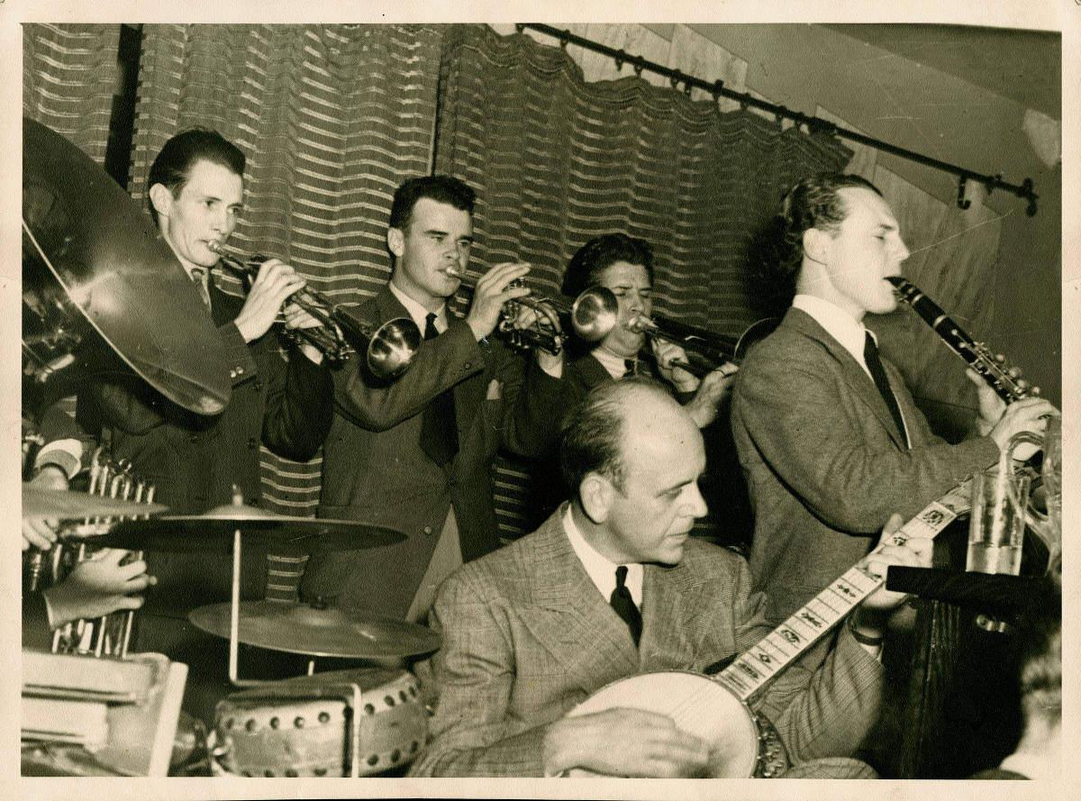 Ellis horne Yerba Buena Jazz Band