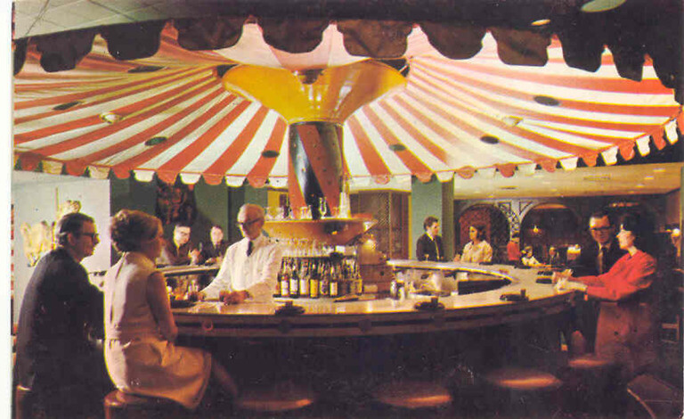Carousel Bar New Orleans 1960s
