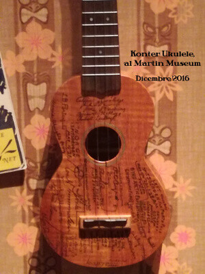 Konter Ukulele - The Ukulele That Flew To The North Pole