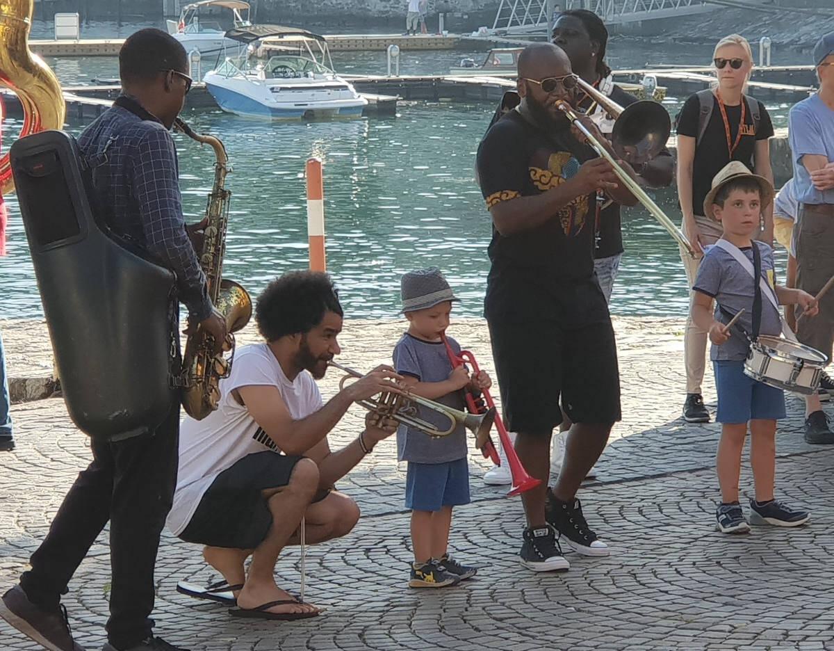 NOJO kids on parade - From The 2019 Ascona Jazz Festival