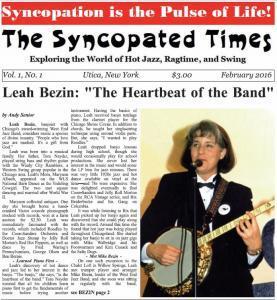 yncopated Times 2016 February Leah Bezin