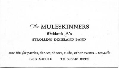Muleskinners biz card