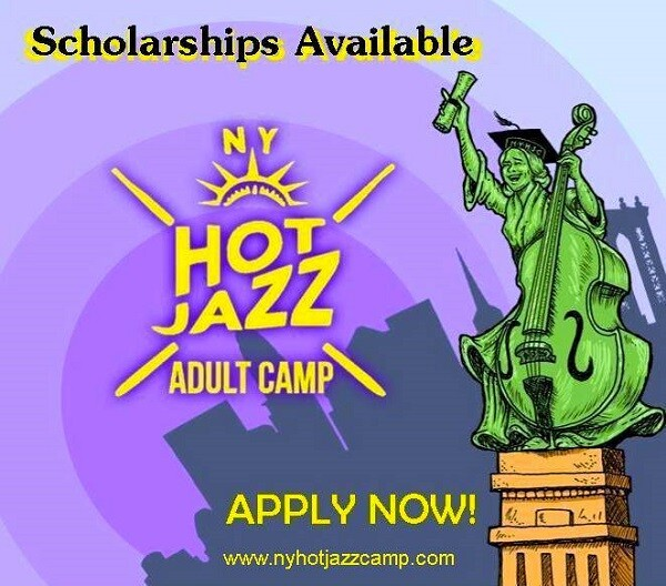 New York Hot Jazz Camp scholarship
