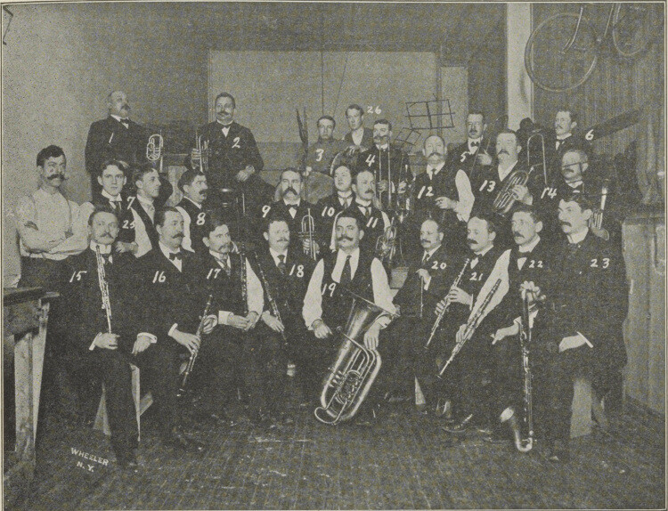 Hager's orchestra- 1903