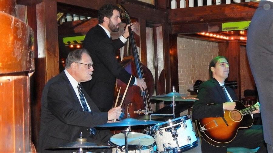 Hal Smith, drums; Joshua Gouzy, bass; Alex Belhaj, guitar 11-13-17