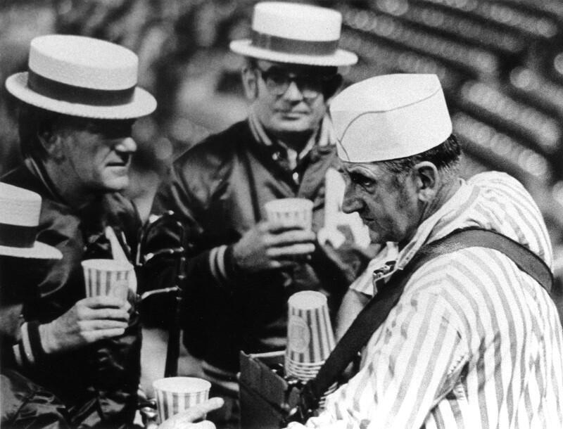 Mielke gets a beer