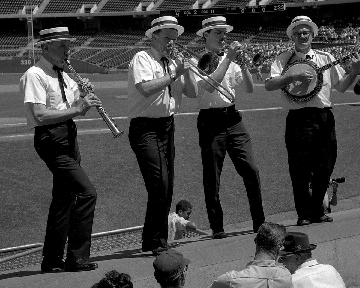 Oakland Coliseum - dugout quartet