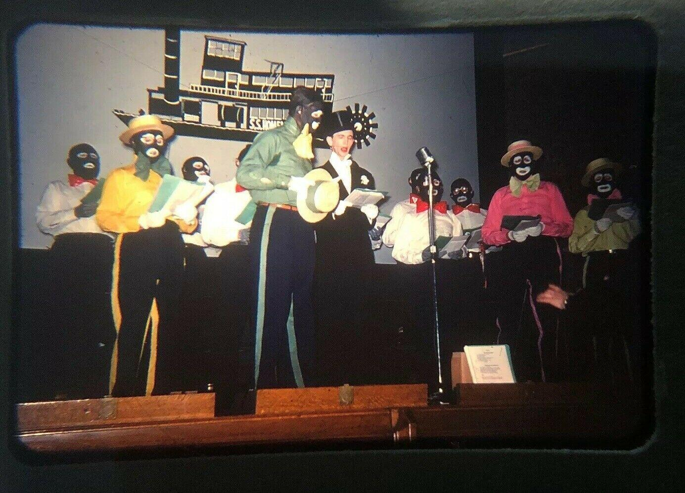 A late 1950s Community Minstrel Show in a Catholic School Auditorium