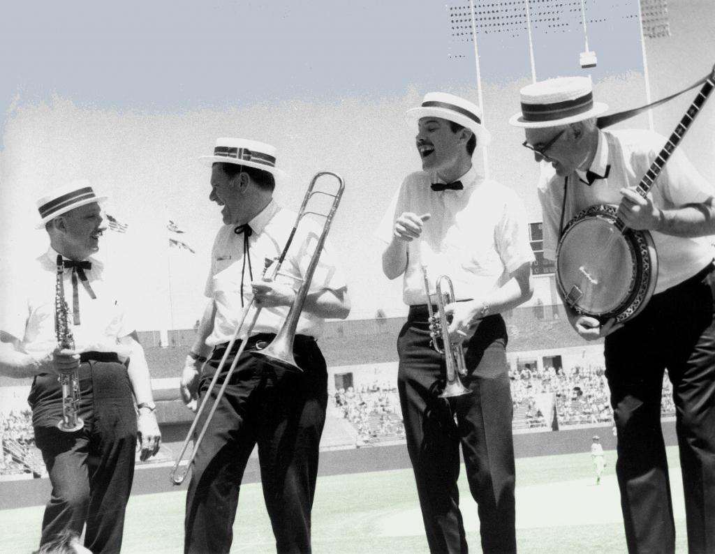 Oakland A's_Band_Helm_B_Mielke_1st Season