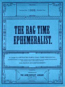 1998 Ragtime Ephemeralist 1