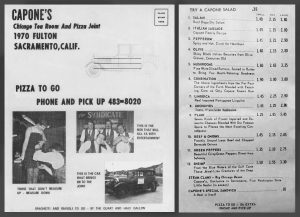 Capones menu_flyer front & back