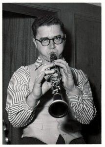Frank Chace clarinet portrait