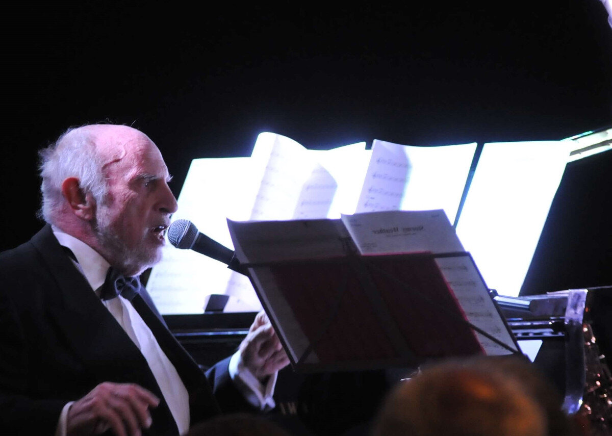 Keith Nichols conducts Benny Goodman concert, Pershore 2019
