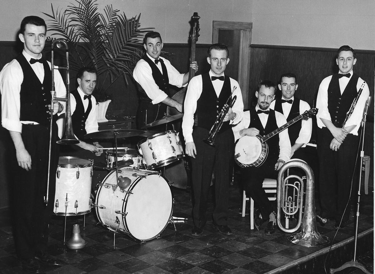 Riverboat Jazz Band Schenectady Locomotive Club 1959