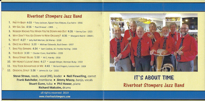 Riverboat Stompers Its About Time - Riverboat Stompers Jazz Band <em>It's About Time</em>