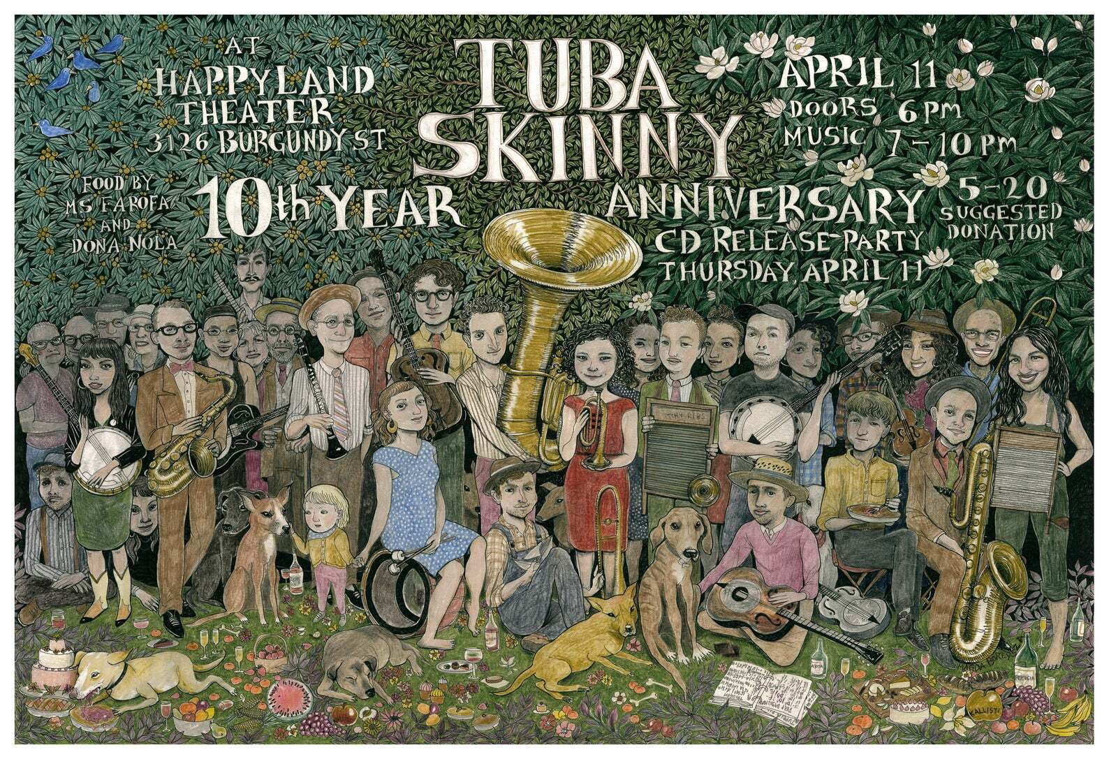 Tuba Skinny Poster