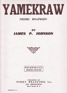 Yamakraw sheet music