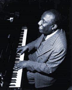 James P Johnson at keyboard
