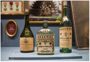 Vintage bottles at The Sazerac House (Photo Chris Granger)