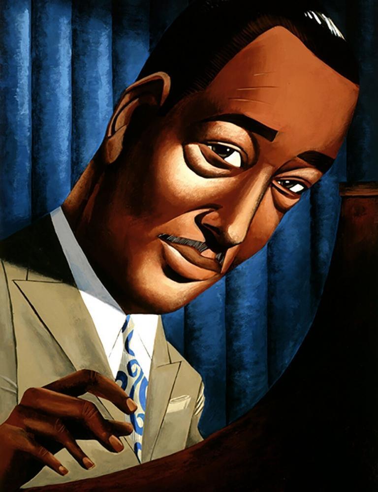 Duke Ellington Ulriksen Caricature