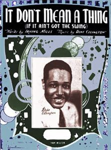 It Don't Mean a Thing – sheet music