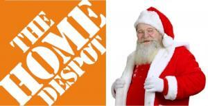 Home-Despot Santa