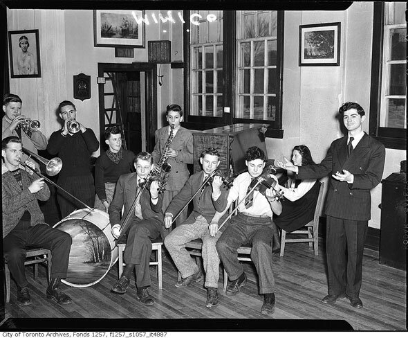 Mimico School Band, Toronto.