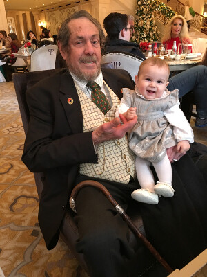 Nat Morison and Aven at the Plaza Hotel 12-16-19