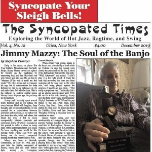 Syncopated Times 2019-12 December cover
