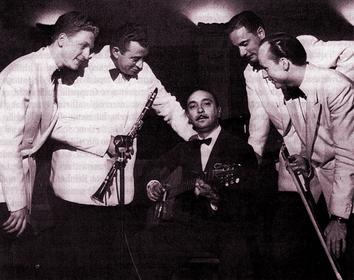 The Ekyan-Reinhardt quintet.