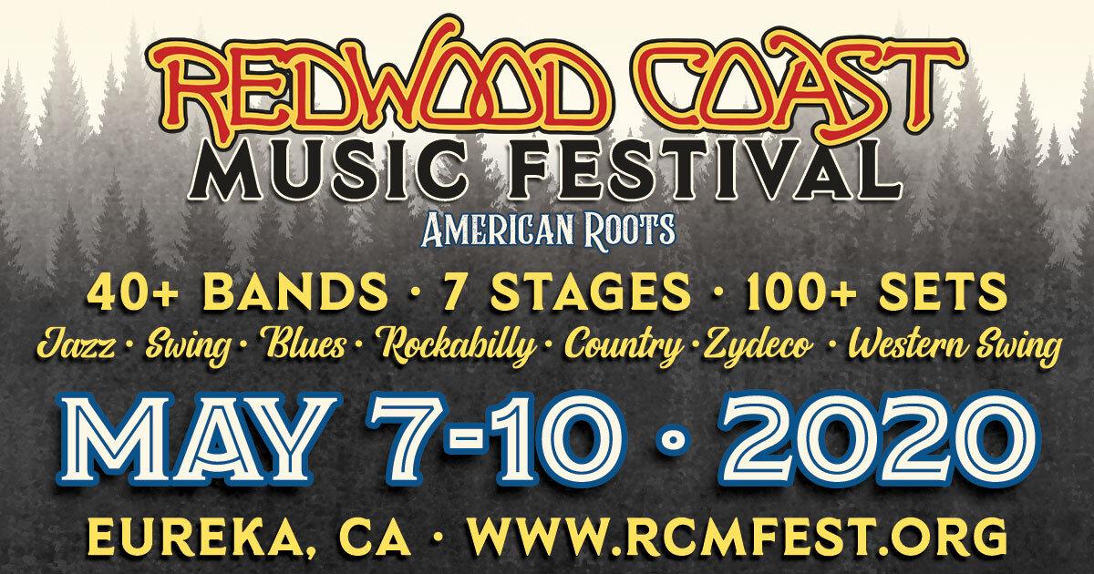 Redwood Coast Music Fest 2020