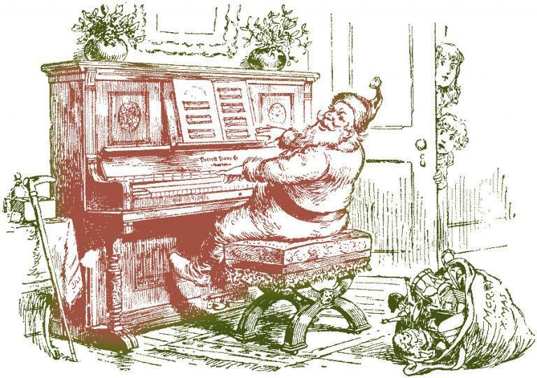 Santa's Piano